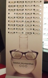 Heston Blumenthal Vision Express launch