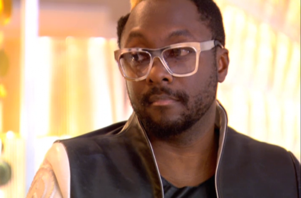 Will.i.am glasses in The Voice Series 2