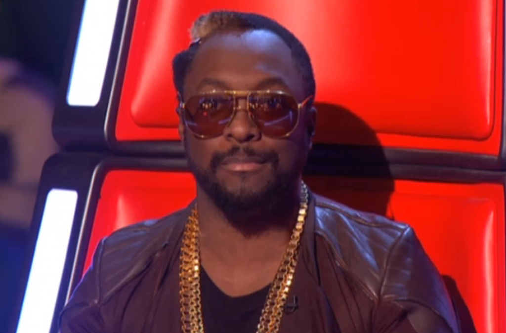 The Voice Series 2 Will.i.am glasses