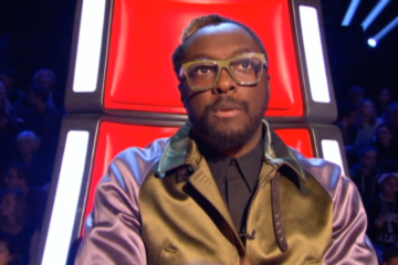 Wil-i-am Glasses in The Voice Battle 3