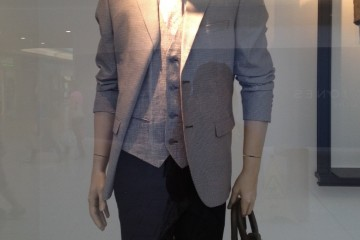 Zara Men Window Display