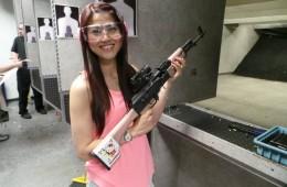 Shooting in Vegas