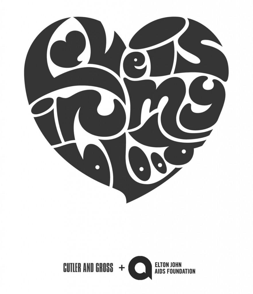 Cutler&Gross Elton John's Aids Foundation Logo