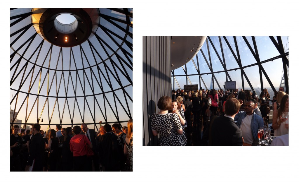 Osiris launch at The Gherkin