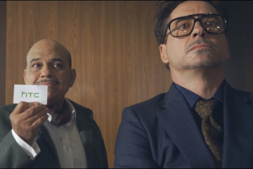 The new HTC advert with Robert Downey Jr