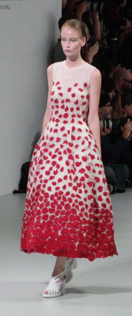 London Fashion Week- John Rocha SS14