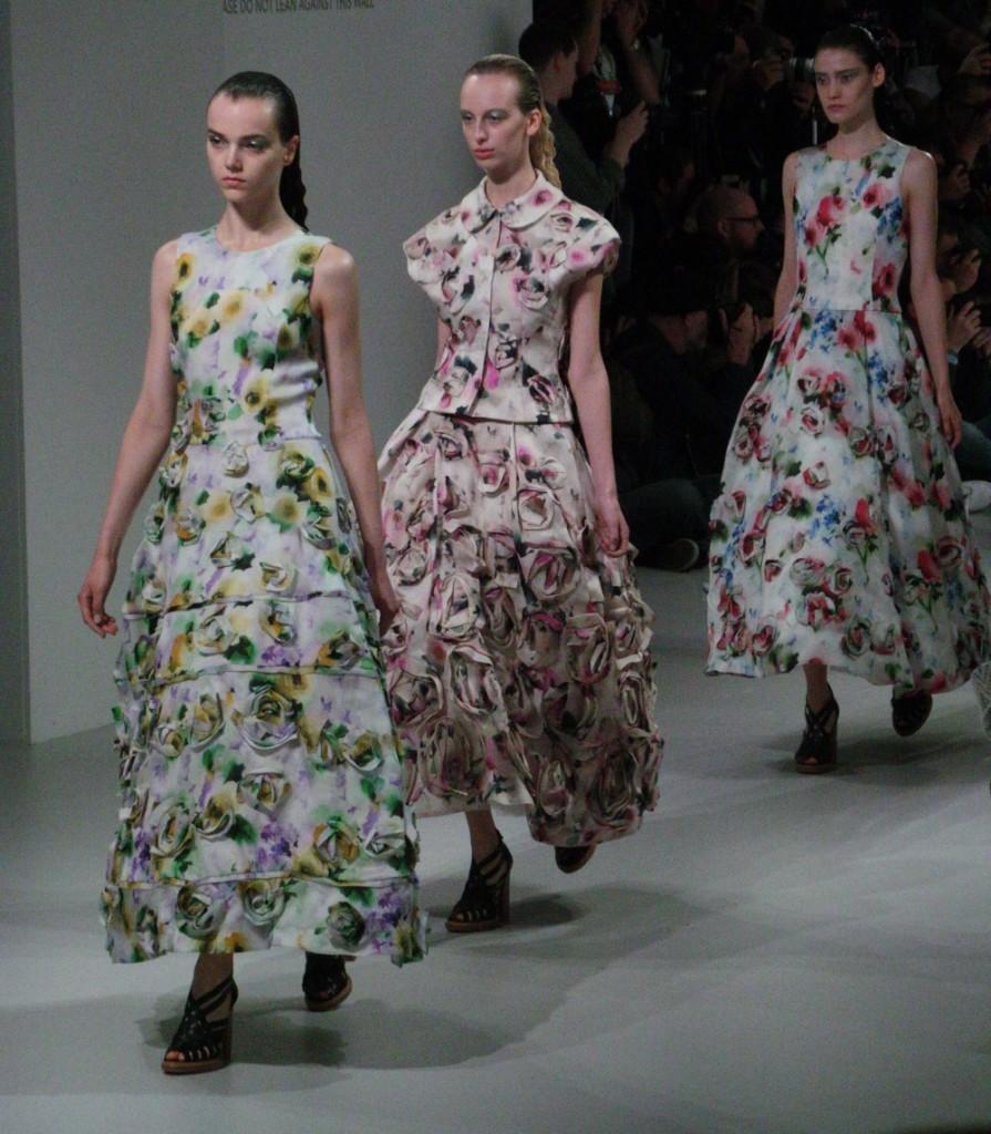 London Fashion Week -John rocha SS14
