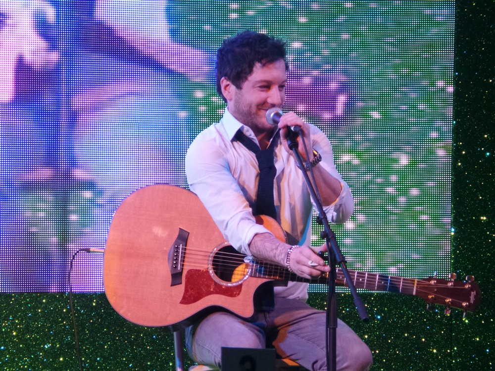 SWOTY Matt Cardle performing