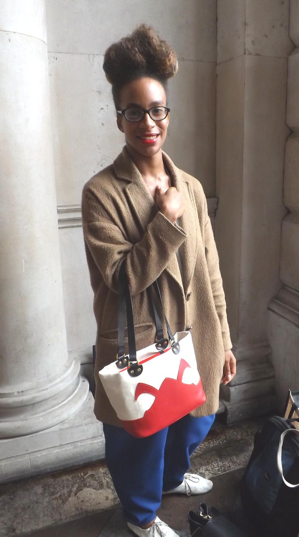 Street Style At London Fashion Week Spring Summer 2014 Look 1 Myglassesandme Eyewear Blog