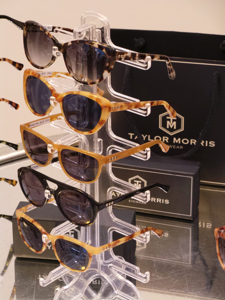 Taylor Morris Eyewear Launch Display