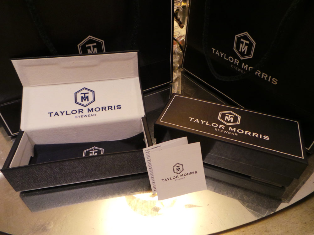 Taylor Morris Eyewear Packaging