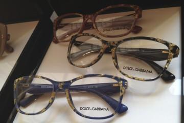 D&G Gold leaf Glasses
