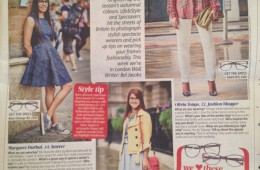 MyGlassesAndMe featured in the Metro