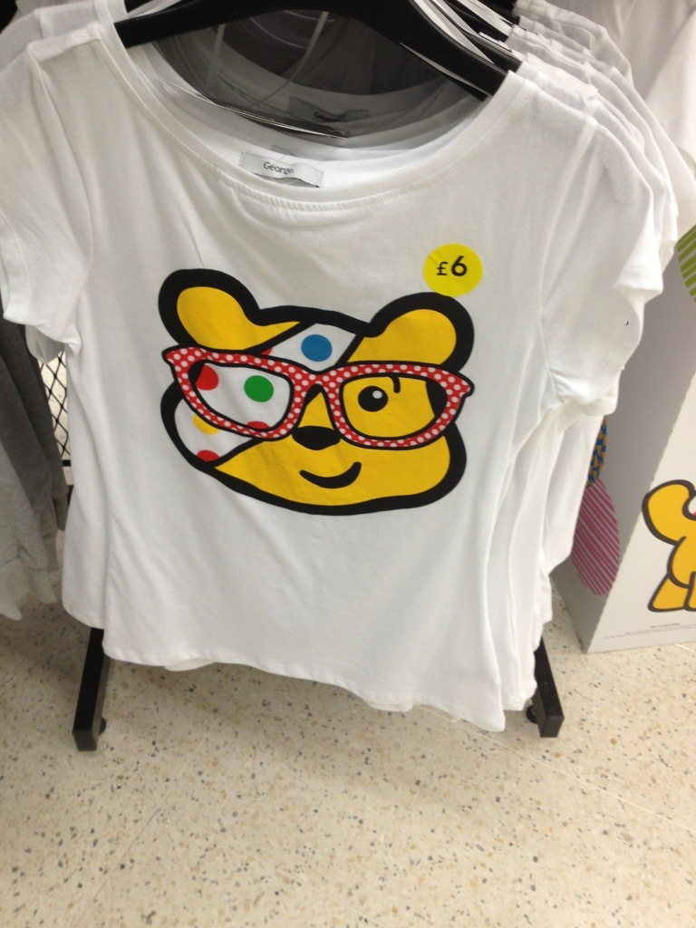 Children in Need - Pudsey Bear Glasses