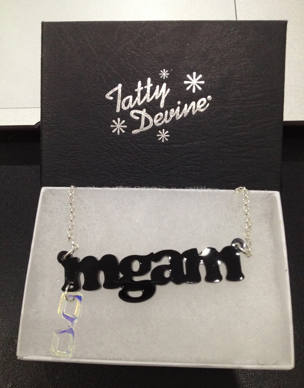 Tatty Devine MGAM Name Necklace