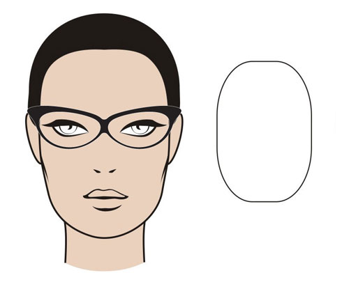 The mgam glasses guide myglassesandme eyewear blog the oblong face shape mgam glasses guide urmus Gallery