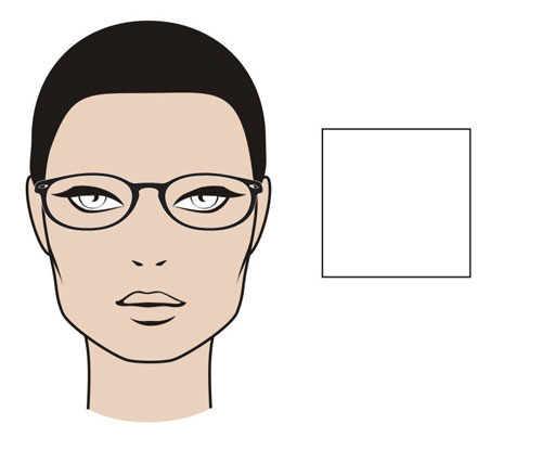 "The ""Square"" Face Shape - MGAM Glasses Guide"