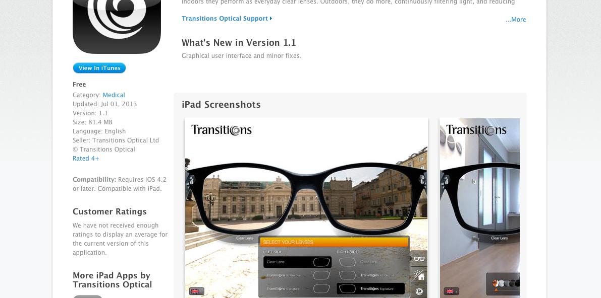Transitions App