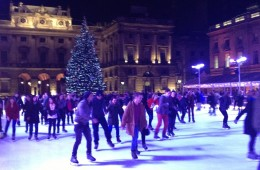 Somerset house ice skating