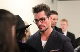 David Gandy at London Collection A/W 2014