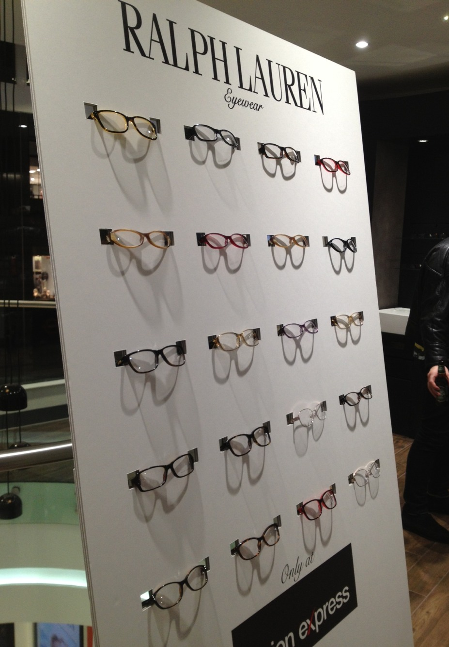 Ralph Lauren Eyewear launch at Vision Express