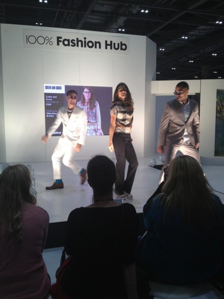 First 100% Optical Fashion Show
