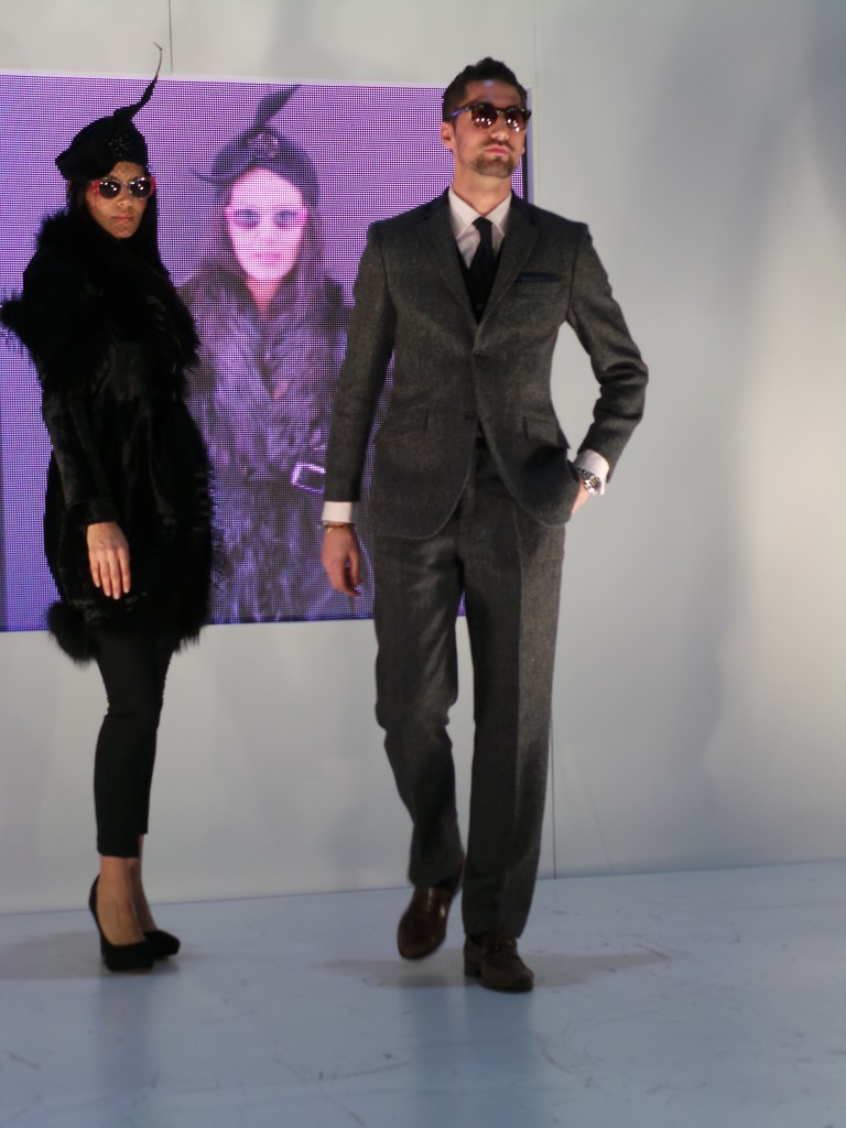 Hugo Taylor at 100% Optical Fashion Show