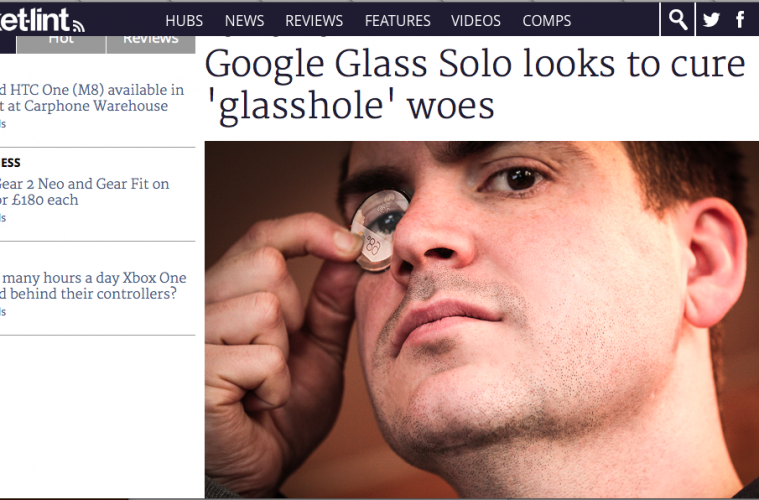 Google Glasses Solo