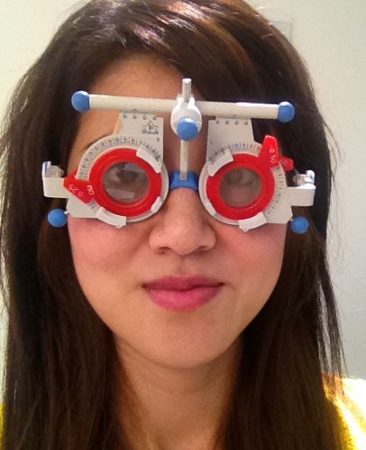 Vision Express Eye Test