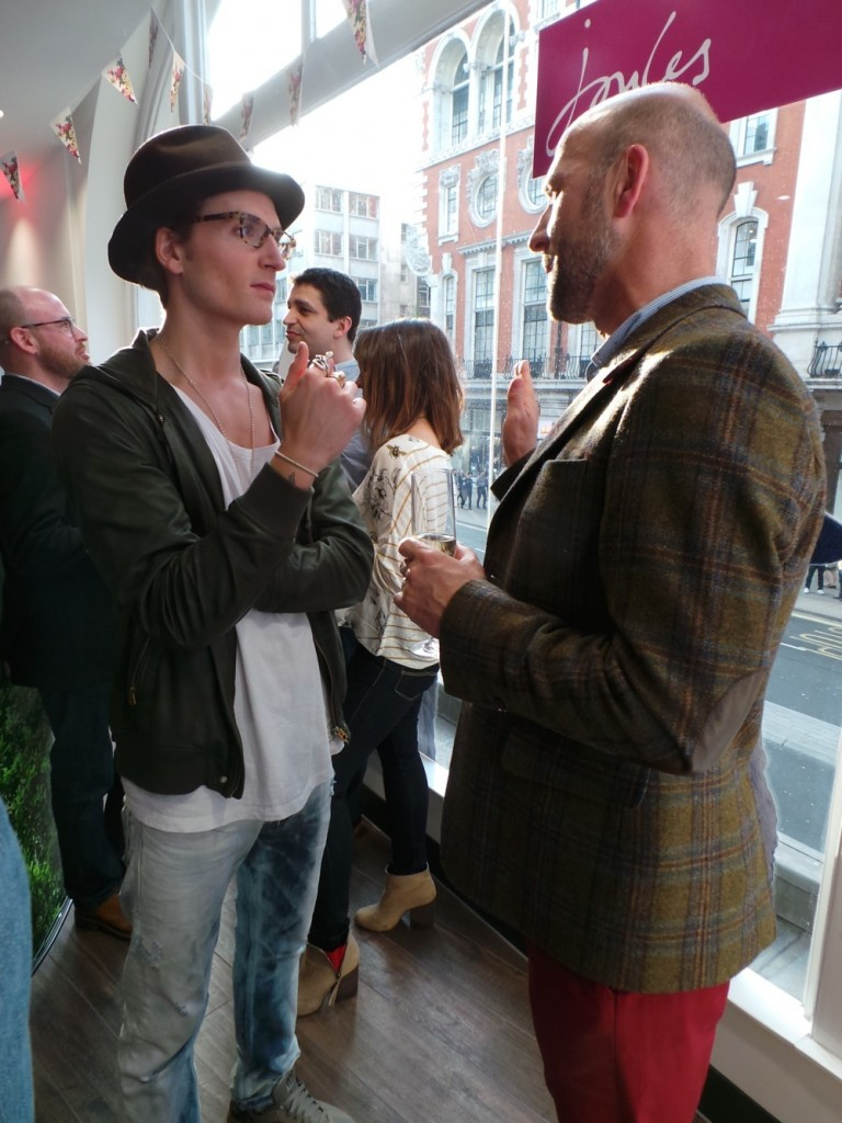 Oliver Proudlock and Founder Tom Joule
