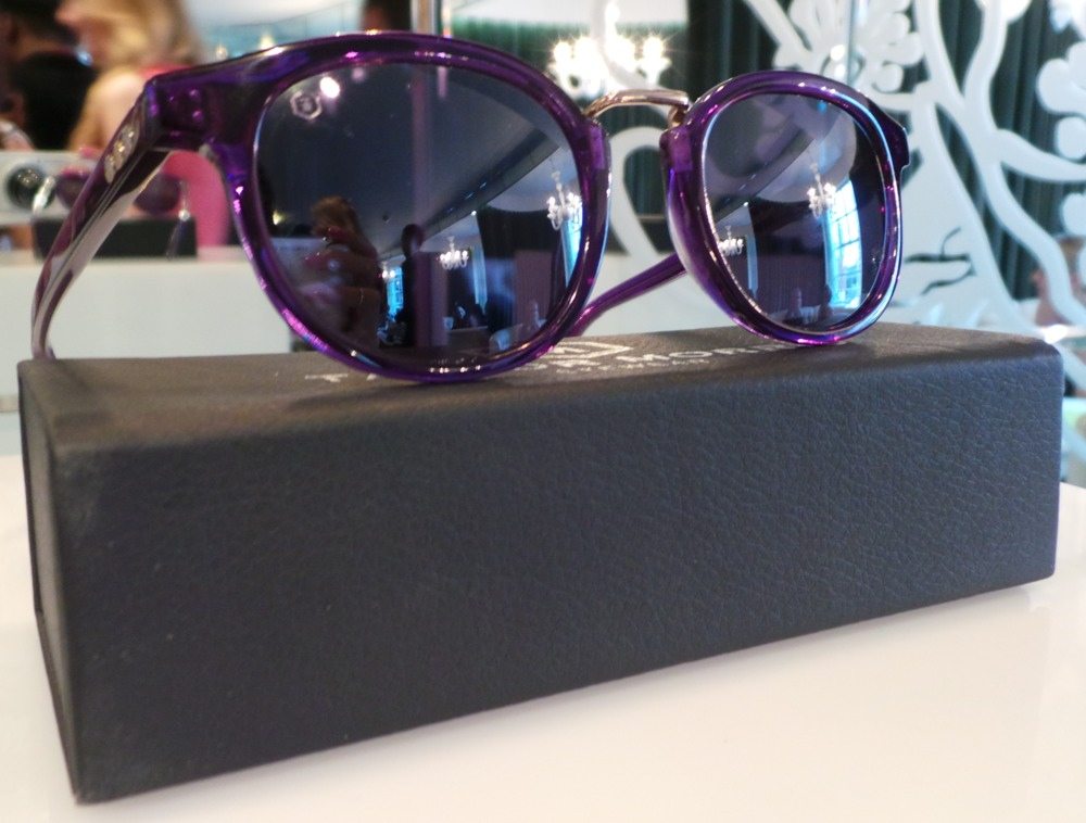 Taylor Morris Eyewear Limited Edition Purple Frame