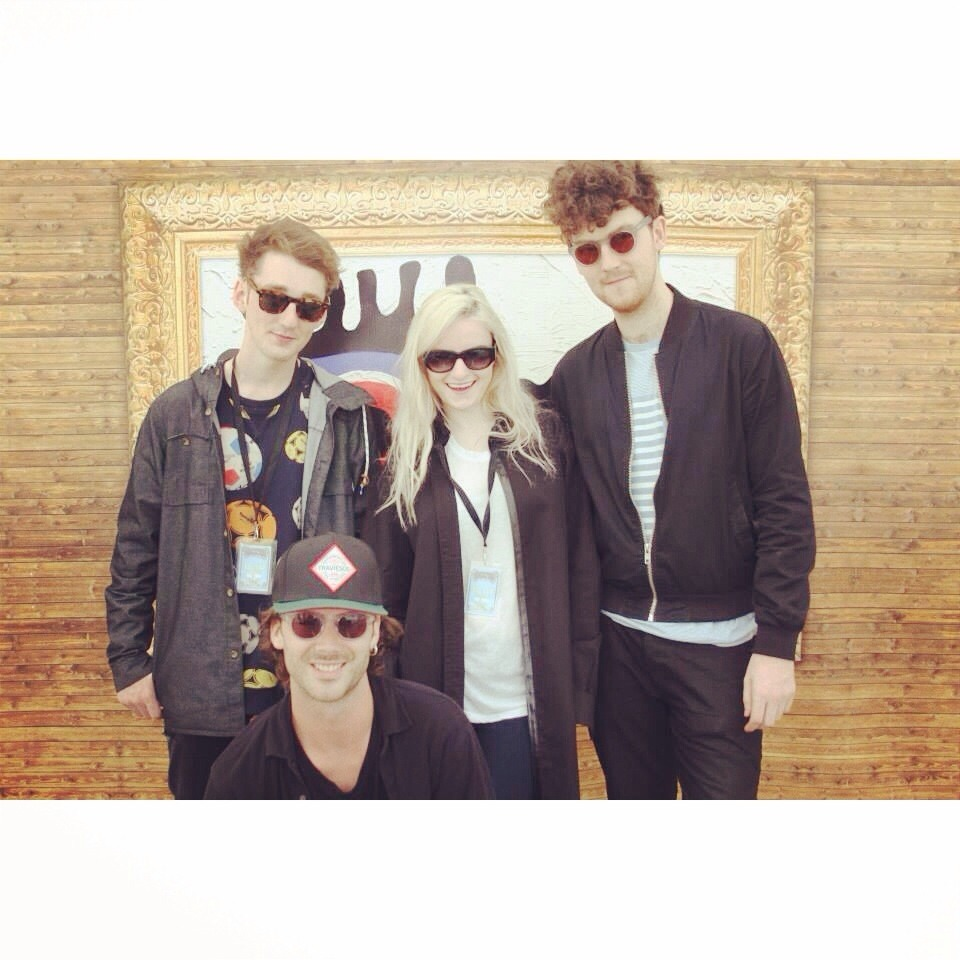 Clean Bandit at the Isle of Wight Festival