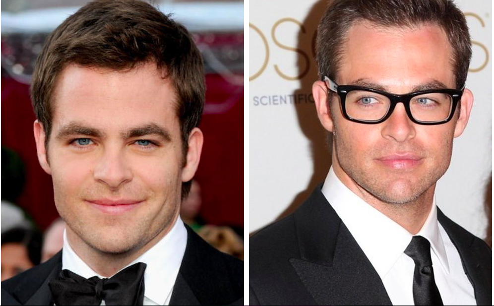 Chris Pine in Glasses from buzzfeed.com