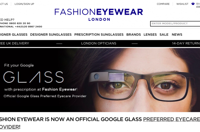 Google Glasses Preferred Optician