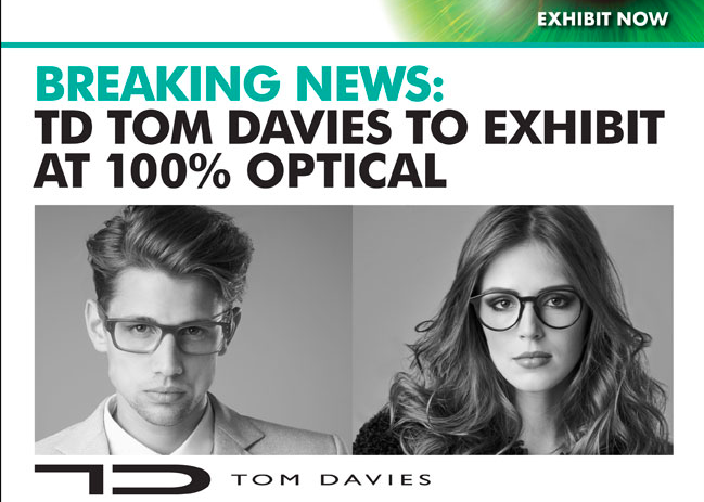 Tom Davies at 100% Optical 2015