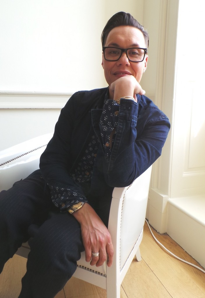 Gok Wan at Specsavers Love Glasses Event