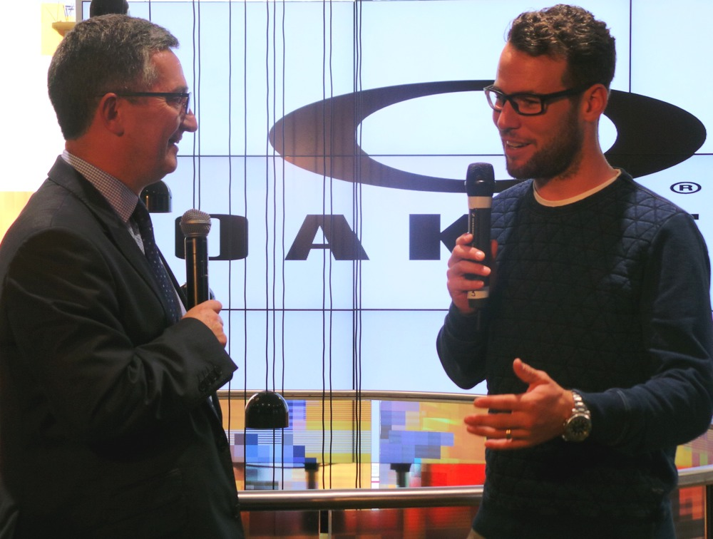 Mark Cavendish for Oakley