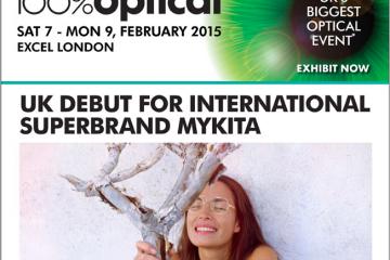 Mykita will be Exhibiting at 100% Optical 2015