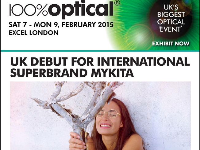 Mykita will be Exhibiting at 100% Optical 2015