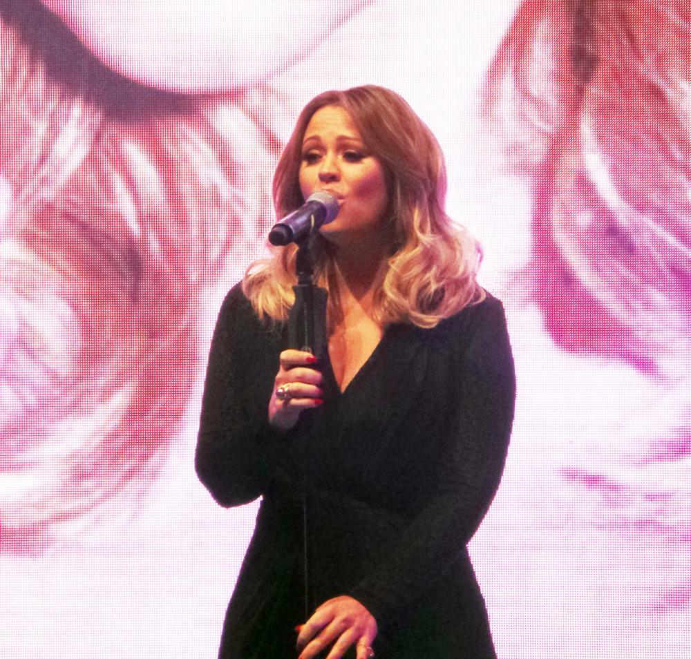Kimberly Walsh at SWOTY2014