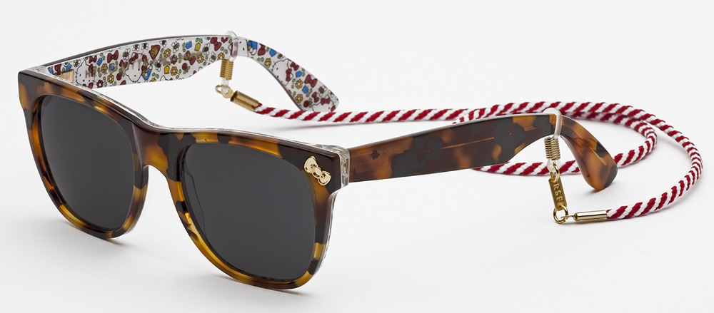 RetroSuperFuture Tortoiseshell Hello Kitty SunglassesRetroSuperFuture Tortoiseshell Hello Kitty Sunglasses