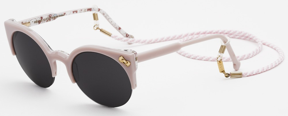 RetroSuperFuture Pink Hello Kitty Sunglasses