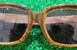 RetroSuper Oak Effect Sunglasses