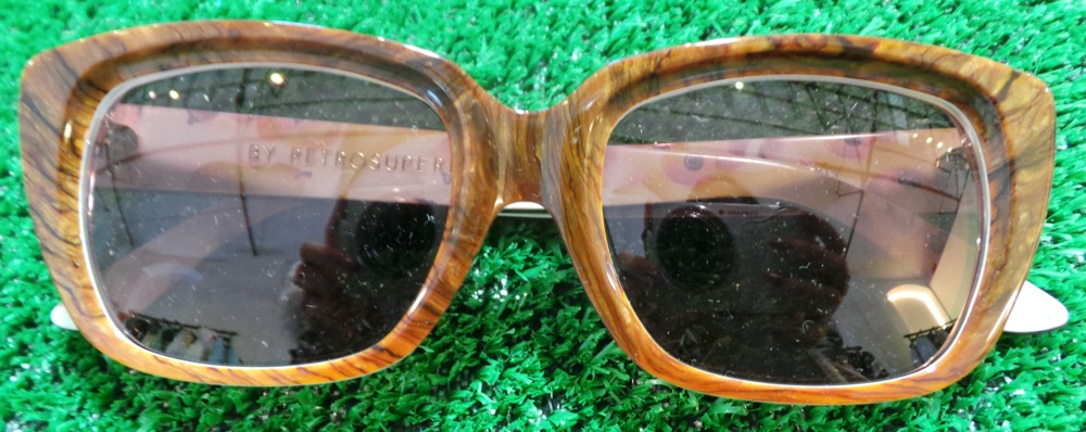 RetroSuper Oak Effect Sunglasses