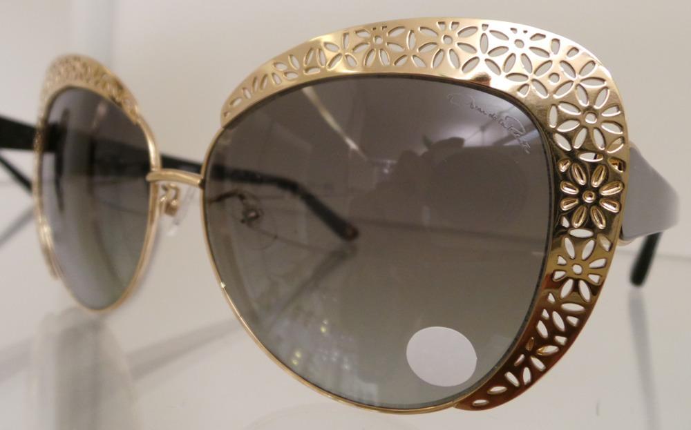 Oscar de la Renta at Linda Farrow 2015 Collection
