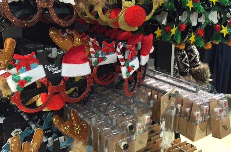 Christmas Novelty Glasses at Primark