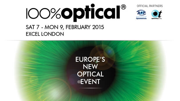 100% Optical 2015 - Eyewear Show
