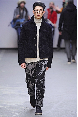 Oliver Spencer A/W 2015 - image from the official London Collection Men Website