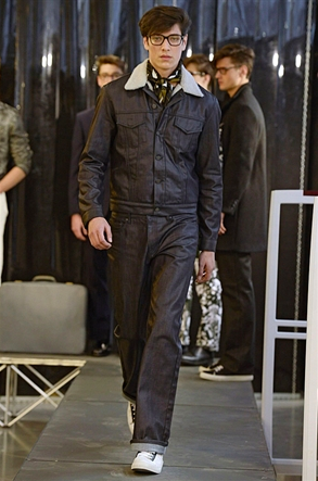 Huntergather A/W2015 - image from the official London Collection Men's Website