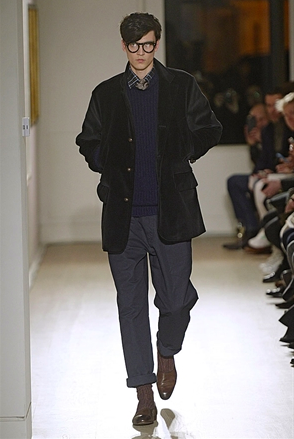 Dunhil A/W 2015- image from the Official London Collection Men's website